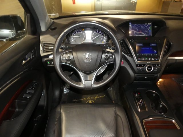 Certified Pre-Owned 2016 Acura MDX SH-AWD with Technology and Entertainment Packages