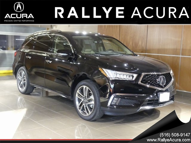 certified pre owned 2017 acura mdx sh awd with advance package 4d sport utility in roslyn. Black Bedroom Furniture Sets. Home Design Ideas