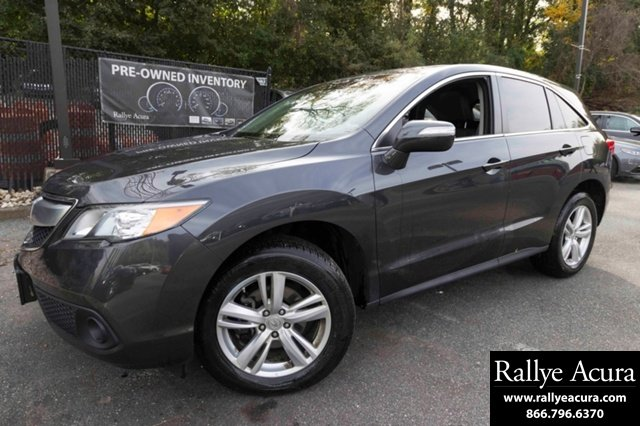 Certified Pre-Owned 2014 Acura RDX AWD with Technology Package 4D ...