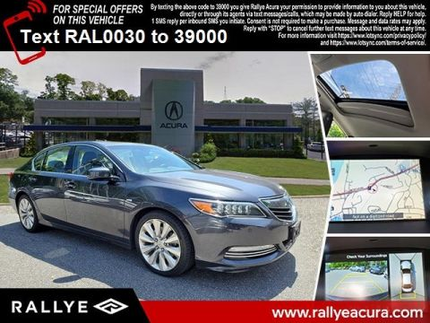 Certified Pre-Owned 2017 Acura RLX Sport Hybrid Sport Hybrid SH-AWD with Advance Package